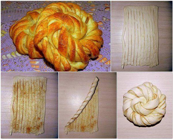 как сделать булочки из дрожжевого теста фото некоторое время после