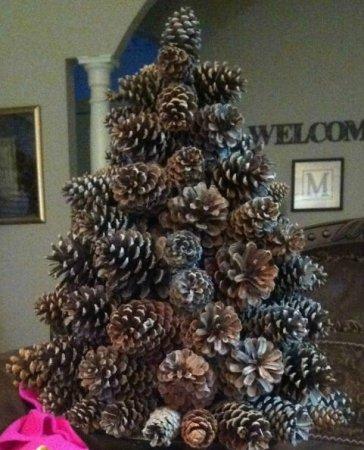 Árvore de Natal com as mãos para o ano novo e # 8212; Idéias de fotos e mestres estágio de classes 36