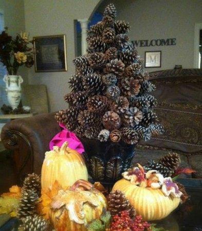 DIY juletræ til nytår & # 8212; fotoideer og mesterklasser trin 31