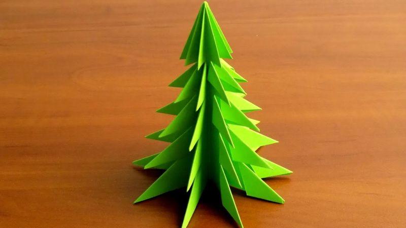 Χριστουγεννιάτικο δέντρο με τα χέρια σας για το Νέο Έτος & # 8212; Ιδέες φωτογραφιών και κύρια μαθήματα Στάδιο 86