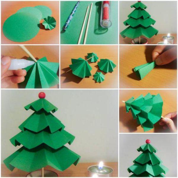 Árvore de Natal com as mãos para o ano novo e # 8212; Ideias fotográficas e mestres estágio de classes 92