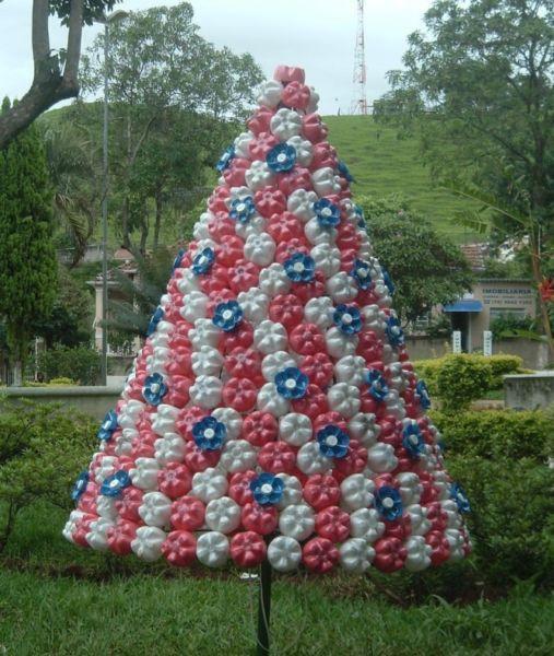 DIY juletræ til nytår & # 8212; fotoideer og mesterklasser trin 97