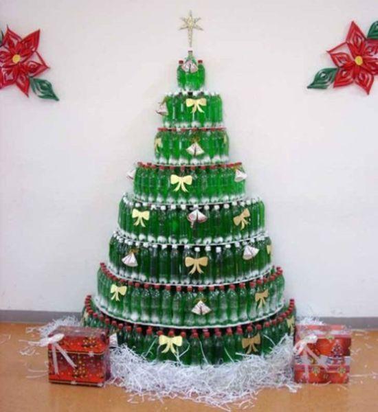 DIY juletræ til nytår & # 8212; fotoideer og mesterklasser trin 102