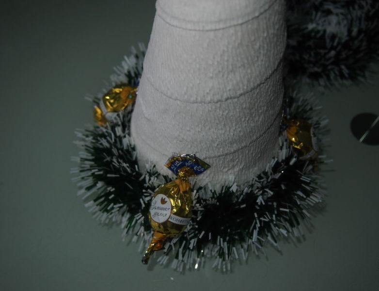 Árvore de Natal com as mãos para o ano novo e # 8212; Idéias de fotos e mestres estágio 68