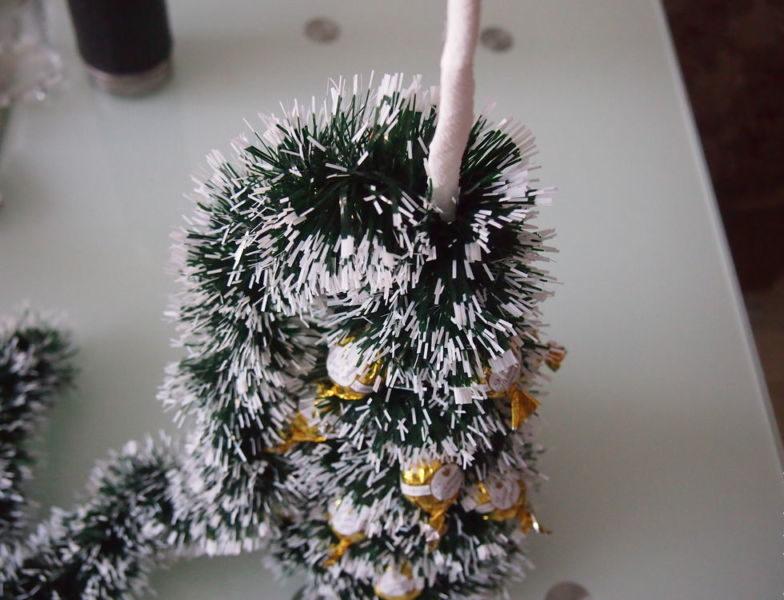 DIY juletræ til nytår & # 8212; fotoideer og mesterklasser trin 70