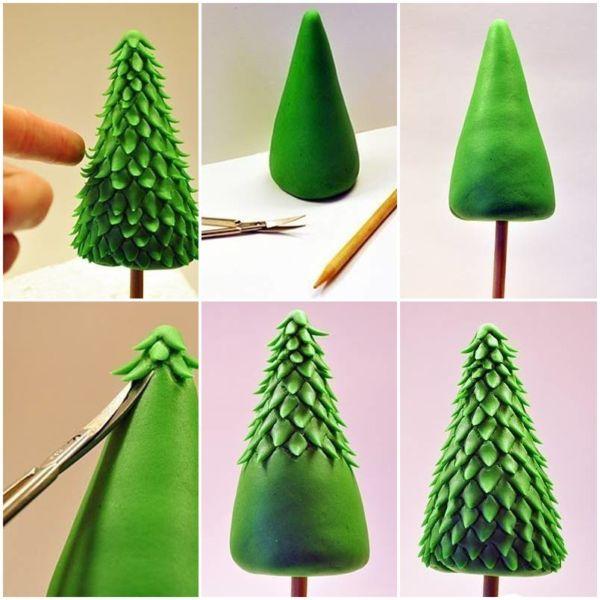 Árvore de Natal com as mãos para o ano novo e # 8212; Ideias fotográficas e mestres estágio de classes 141
