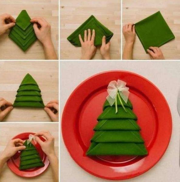 Árvore de Natal com as mãos para o ano novo e # 8212; Ideias fotográficas e mestres estágio 117