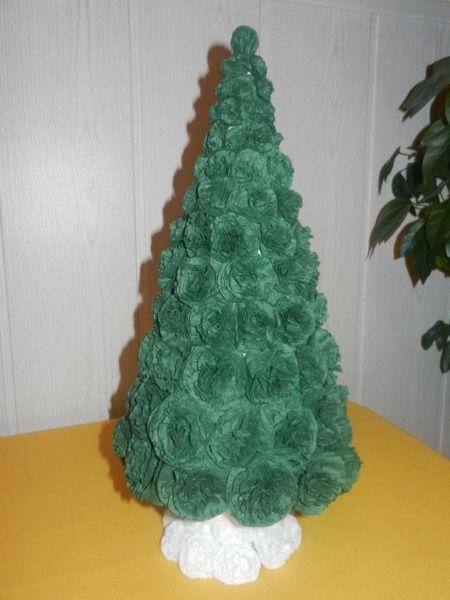 DIY juletræ til nytår & # 8212; fotoideer og mesterklasser fase 116