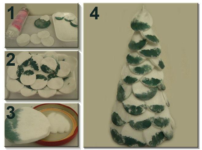 Árvore de Natal com as mãos para o ano novo e # 8212; Ideias fotográficas e mestres estágio de classes 123