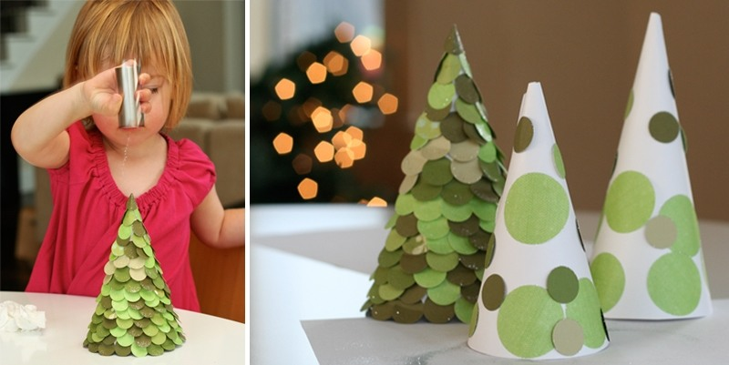 Χριστουγεννιάτικο δέντρο με τα χέρια σας για το Νέο Έτος & # 8212; Ιδέες φωτογραφιών και κύρια μαθήματα Στάδιο 20