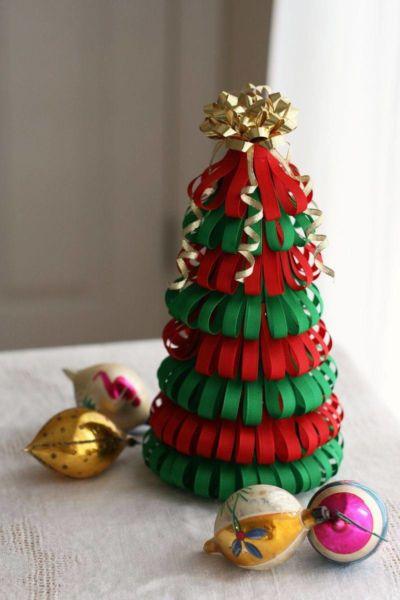 DIY juletræ til nytår & # 8212; fotoideer og mesterklasser trin 5