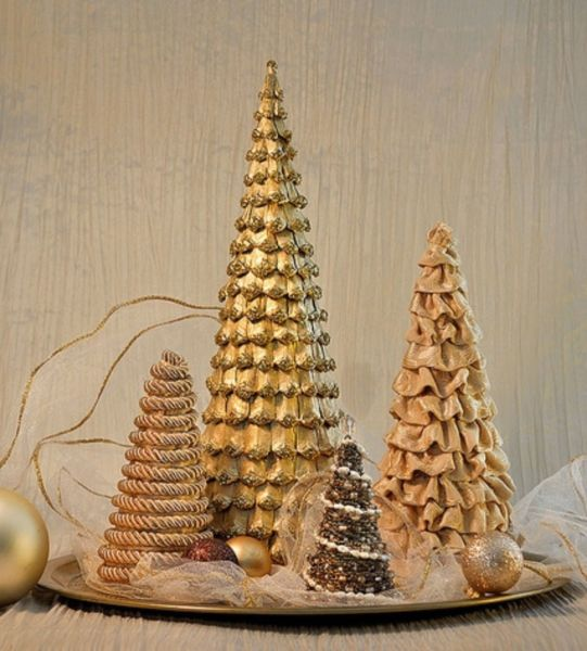 DIY Christmas tree for New Year & # 8212; photo ideas and master classes stage 49