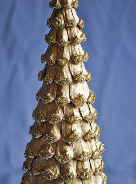 Árvore de Natal com as mãos para o ano novo e # 8212; Idéias de fotografias e mestres estágio 48