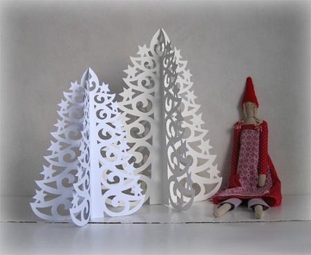Árvore de Natal com as mãos para o ano novo e # 8212; Ideias fotográficas e mestres estágio 87