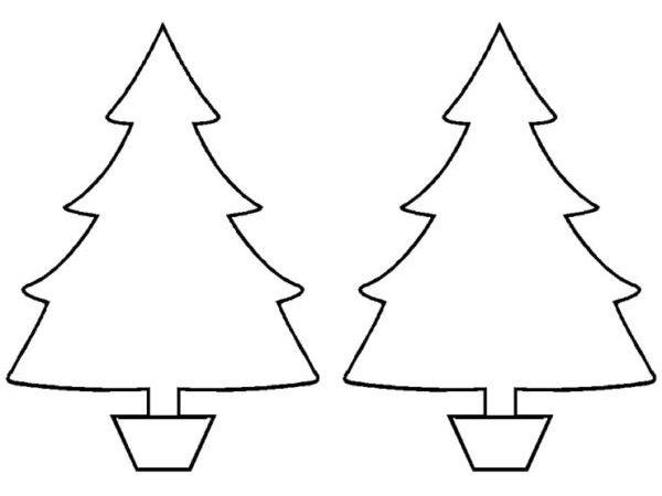 Tělor strom z papíru & # 8212; Schémata a šablony k vytvoření vánočního stromu s vlastními rukama 62