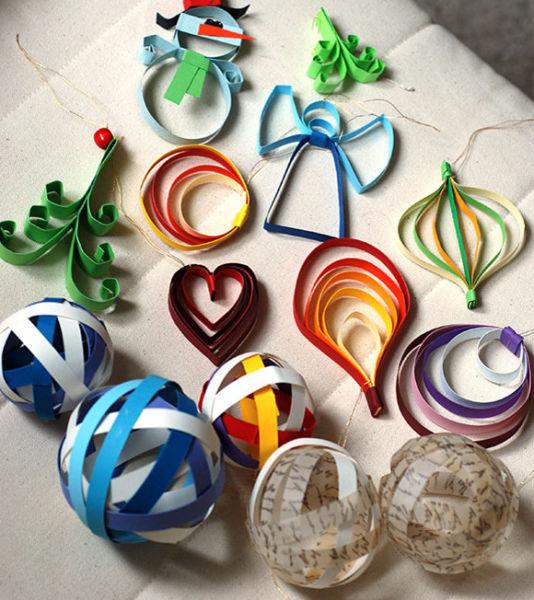 Игрушки на елку своими руками из подручных материалов к Новому году 2021 этап 45