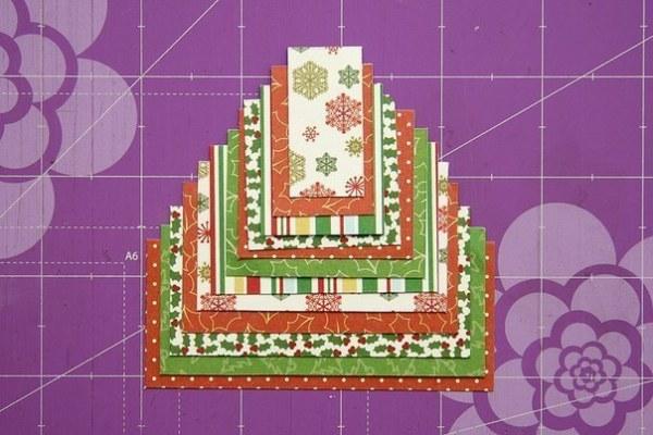 Жаңа жылдық карталар жасаңыз Балалар үшін өзіңіз жасаңыз: Жаңа жылдағы мастер-кластар және ашықхаттар шаблондары 2021 121 кезең