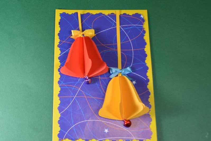 کارت های سال نو آن را برای کودکان انجام می دهند: کلاس های کارشناسی ارشد و قالب های کارت پستال برای سال نو 2021 مرحله 48