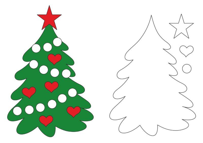 Жаңа жылдық карталар Балалар үшін өзіңіз жасайсыз: Жаңа жылдағы мастер-кластар және ашықхаттар шаблондары 2021 ж. 65 кезеңі