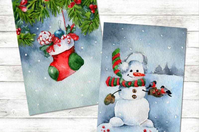 کارت پستال های سال نو آن را برای کودکان انجام دهید: کلاس های کارشناسی ارشد و قالب های کارت پستال برای سال جدید 2021 مرحله 145