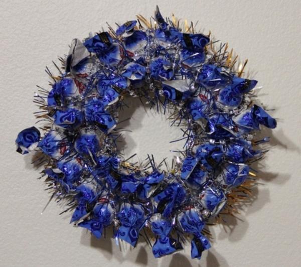 Жаңа жылдық гүл шоқтарын өзіңіз жасайды. 95-ші кезеңде гүл шоқтарын өндіруге арналған 12 шеберлік сабағы
