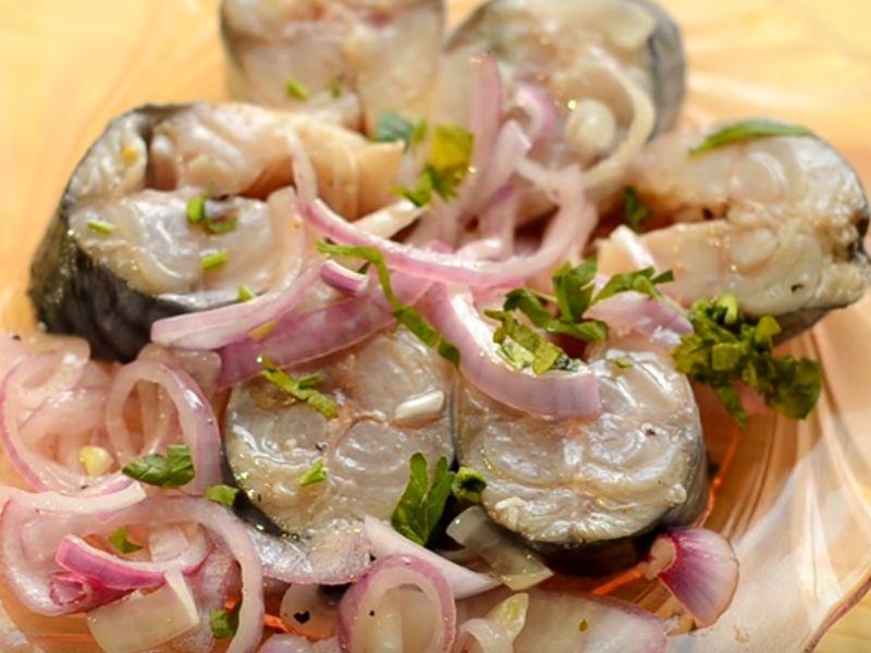 Mackerel ướp ở nhà: 7 công thức nấu ăn ngon Giai đoạn 9