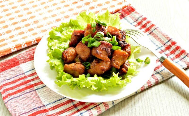 Carne de porco em uma frigideira: 9 Receitas simples e deliciosas Etapa 12