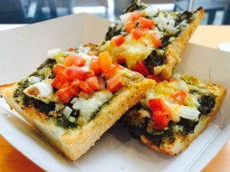 Open Margherita Sandwich