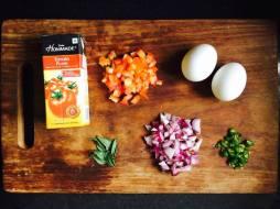Ingredients of Shakshuka