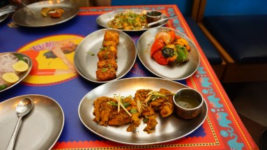 Starters at Dhaba