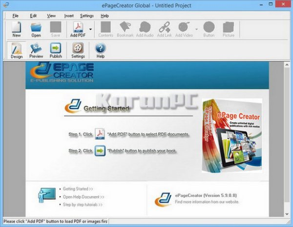 ePageCreator Full Version