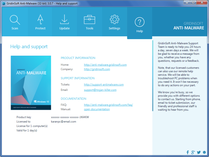 GridinSoft Anti-Malware 3