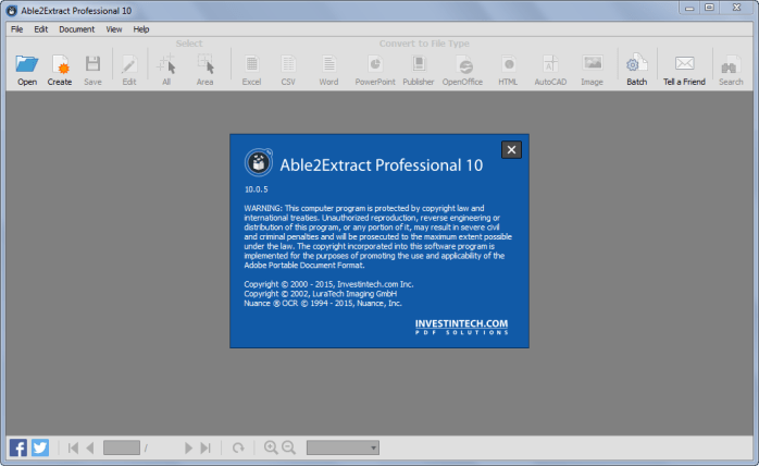Able2Extract Professional 11.0.1.0