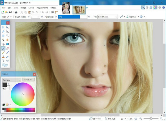 Paint NET Image Editing Software