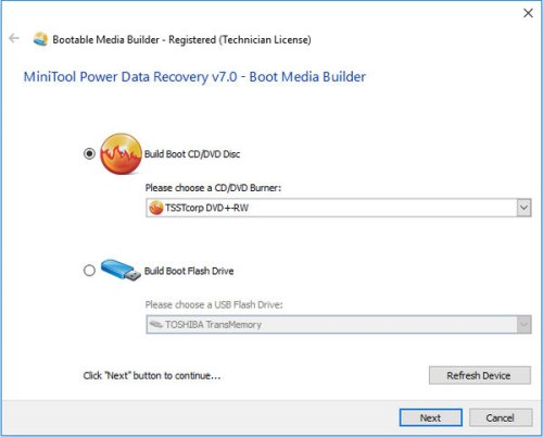MiniTool Power Data Recovery 7.0 Bootable
