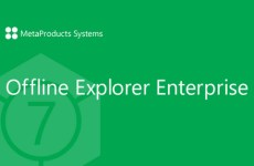 MetaProducts Offline Explorer Enterprise 8.1.4892