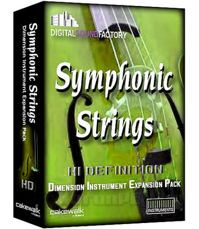 Symphonic String HD for Dimension