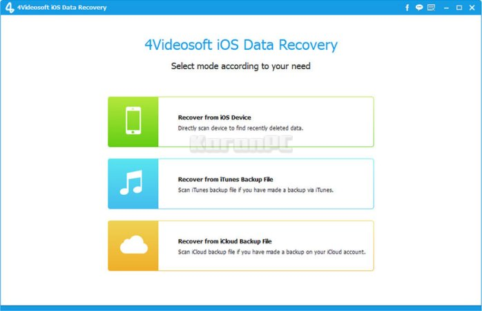 4Videosoft iOS Data Recovery Full