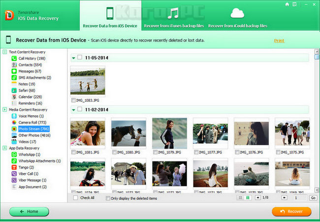 Tenorshare iOS Data Recovery Full