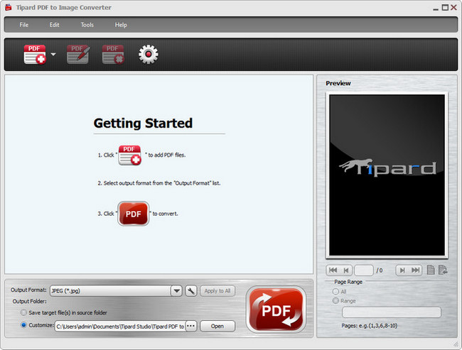 Tipard PDF to Image Converter Full
