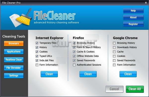 WebMinds FileCleaner Serial Key Download