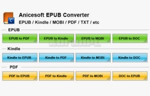 AniceSoft EPUB Converter Full Download
