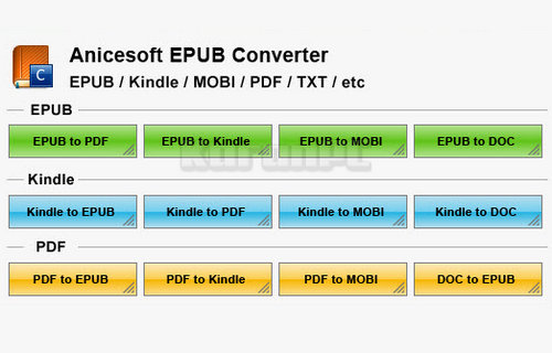 AniceSoft EPUB Converter Free Download