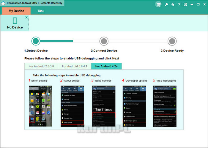 Coolmuster Android SMS + Contacts Recovery 2