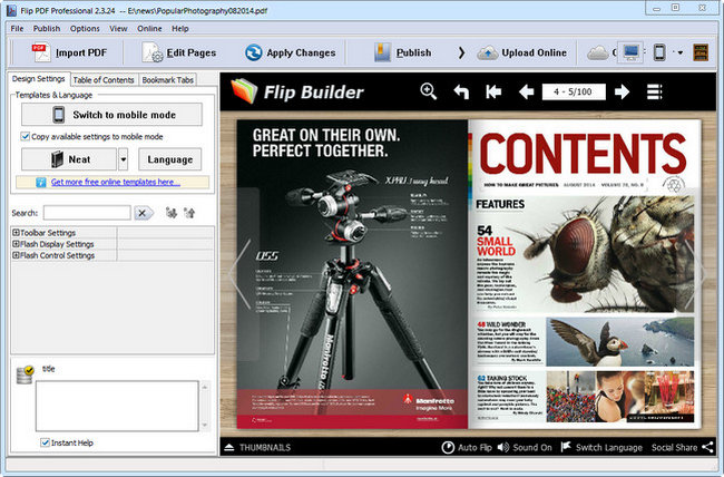 Flip PDF Professional Full Download