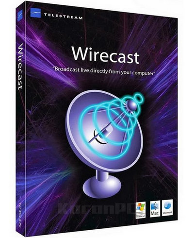 Telestream Wirecast Pro 9 Full Version