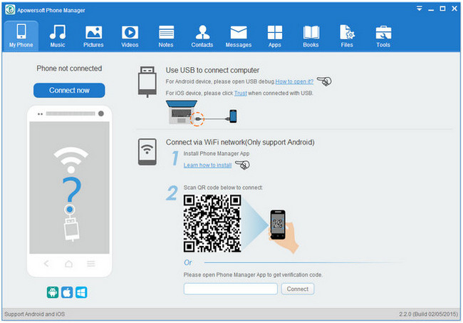 Apowersoft Phone Manager PRO 2.7