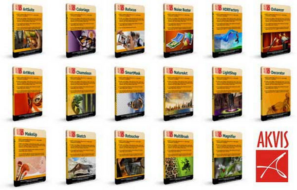 AKVIS All Plugins For Adobe Photoshop