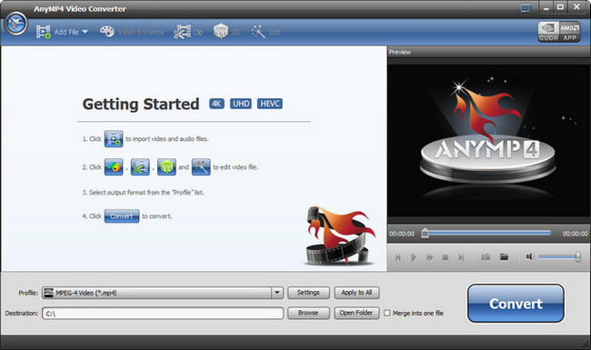 AnyMP4 Video Converter Crack