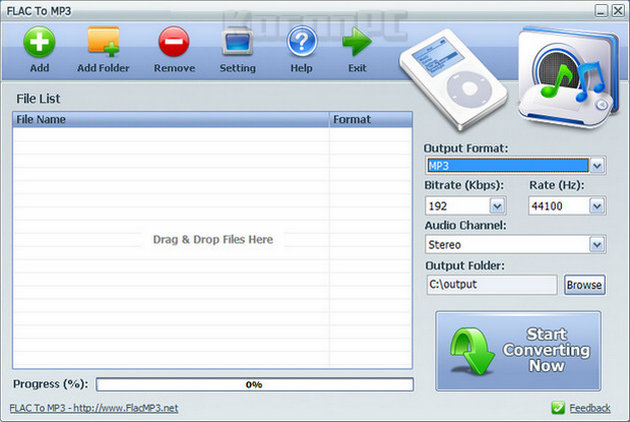 FLAC To MP3 Converter 4